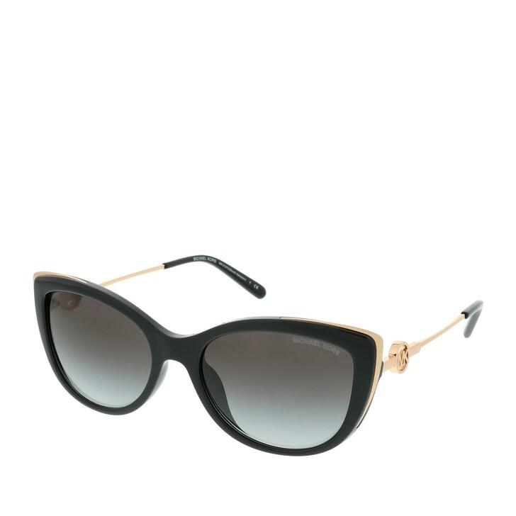 Sonnenbrille, Michael Kors, 0MK2127U 33328G Woman Sunglasses Modern Glamour Black