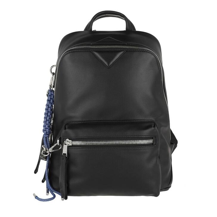 Reisetasche, MCM, Neo Small Backpack Black