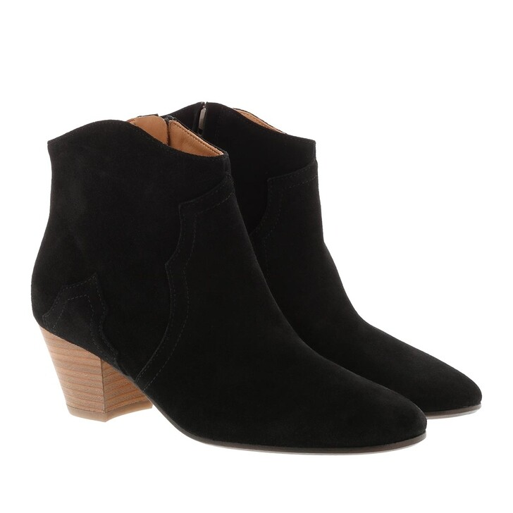 shoes, Isabel Marant, Dicker Boots Leather Black