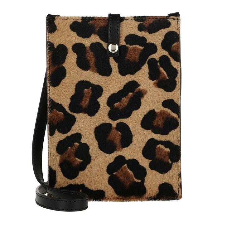 Handtasche, L´Autre Chose, Pouch Camel/Black