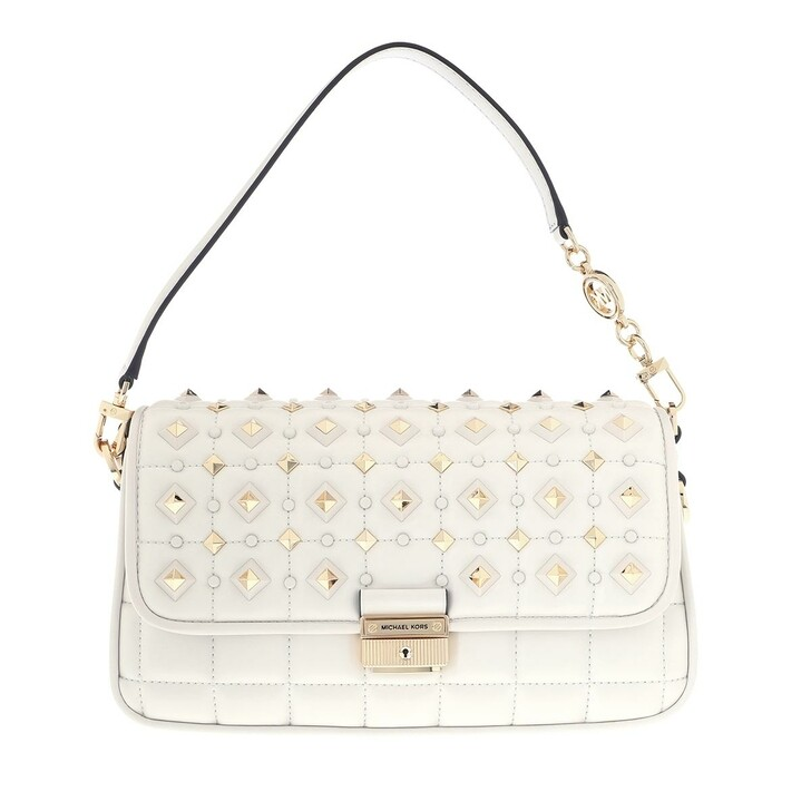 Handtasche, MICHAEL Michael Kors, Small Conv Shoulder Handbag   Optic White