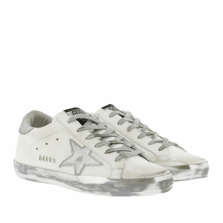 Schuh, Golden Goose, Superstar Sneakers 2 White/Silver