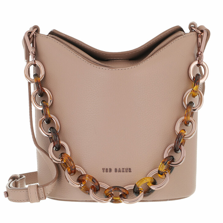 Handtasche, Ted Baker, Resin Chain Mini Bucket Bag Mid Pink