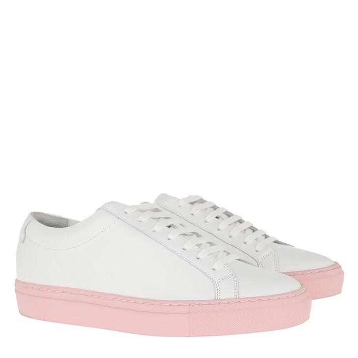 Schuh, Kūlson, Kulson Flamingo Sneaker Leather White