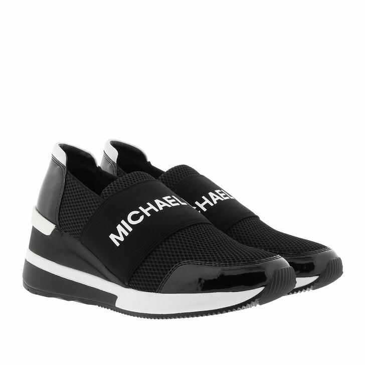 Schuh, MICHAEL Michael Kors, Felix Sneakers Black Optic White