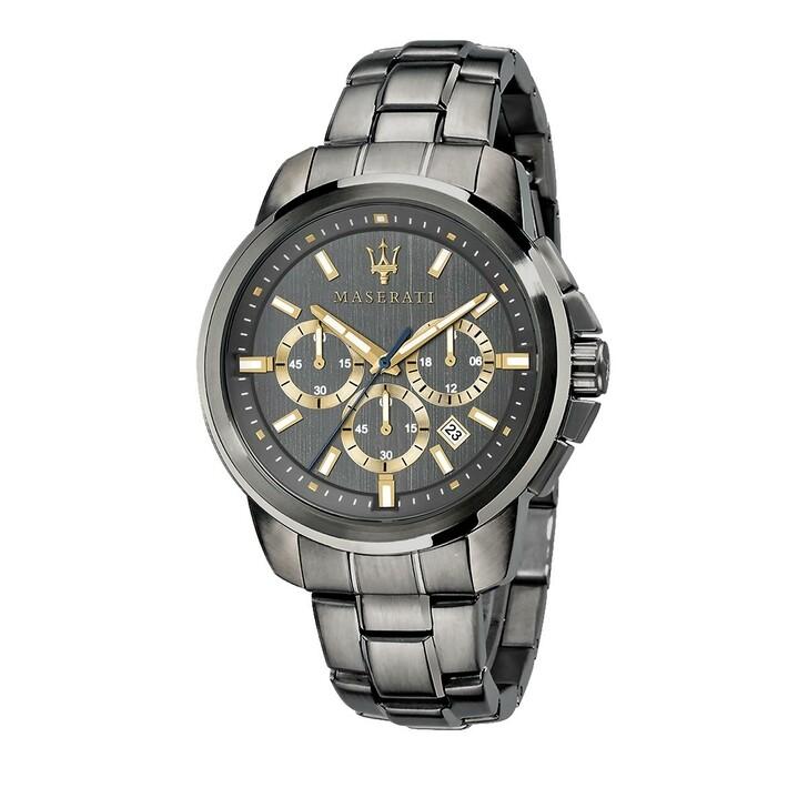 Uhr, Maserati, Watch Successo 44 mm Black