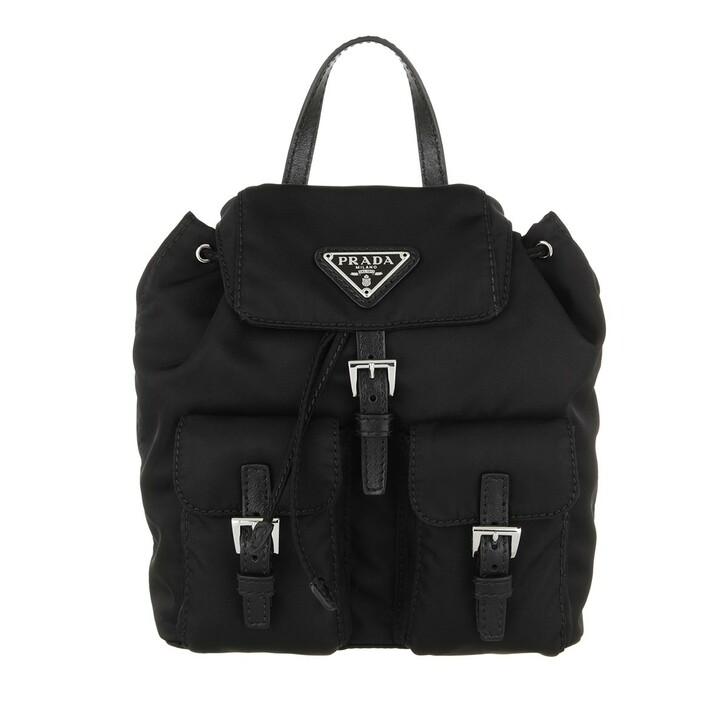 bags, Prada, Vela Mini Bag Black