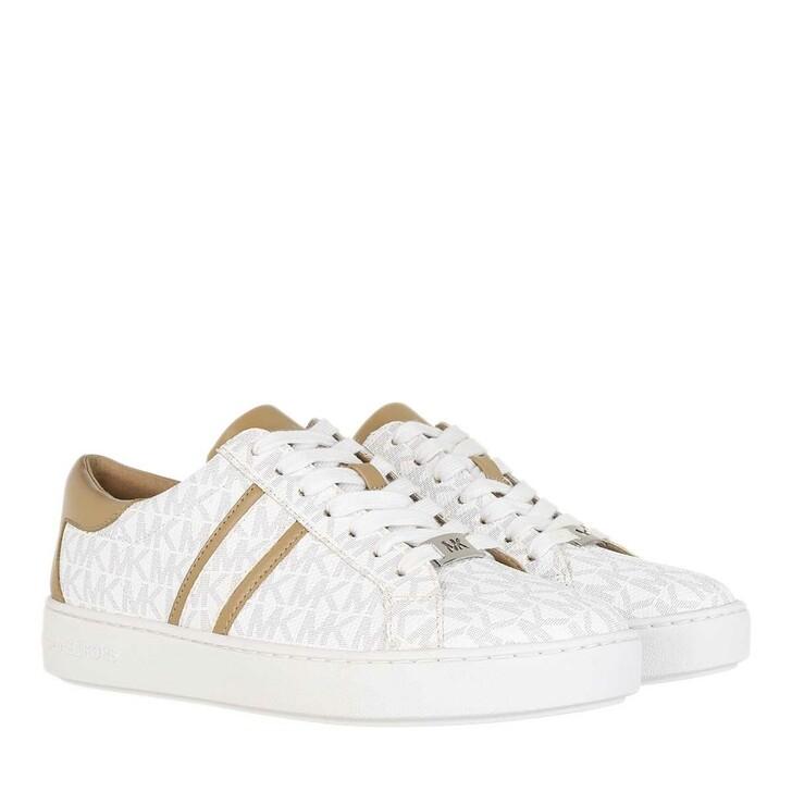 shoes, MICHAEL Michael Kors, Keaton Stripe Sneaker Bright White