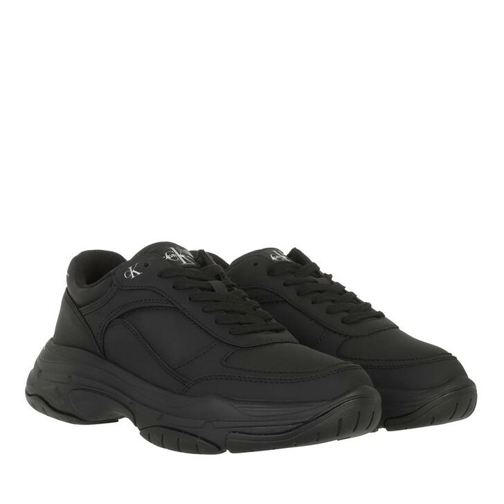 shoes, Calvin Klein, Chunky Laceup Sneaker Wn Triple Black