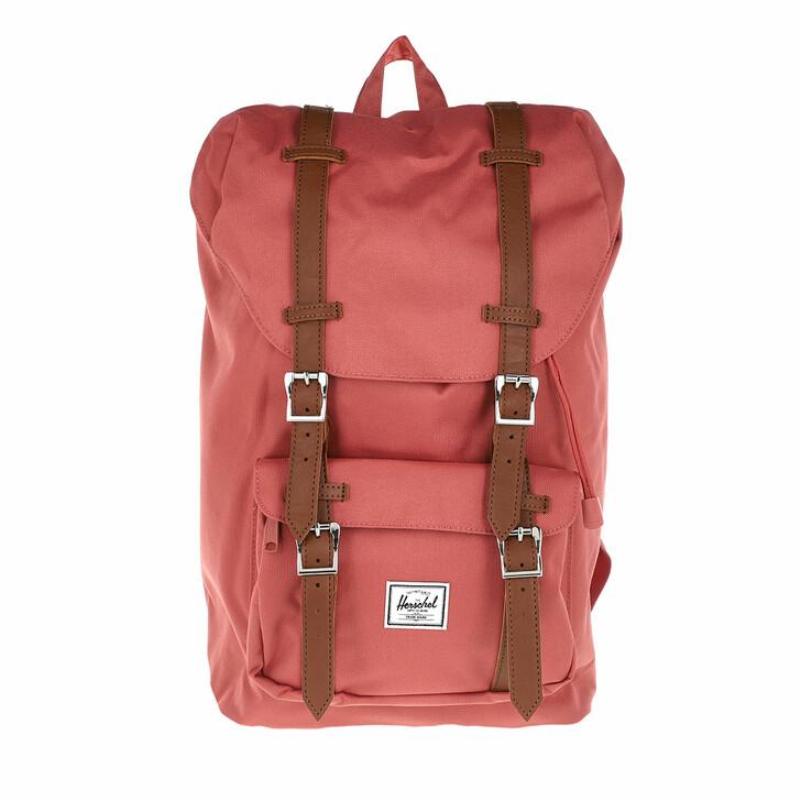bags, Herschel, Little America Mid-Volume Backpack Dusty Cedar