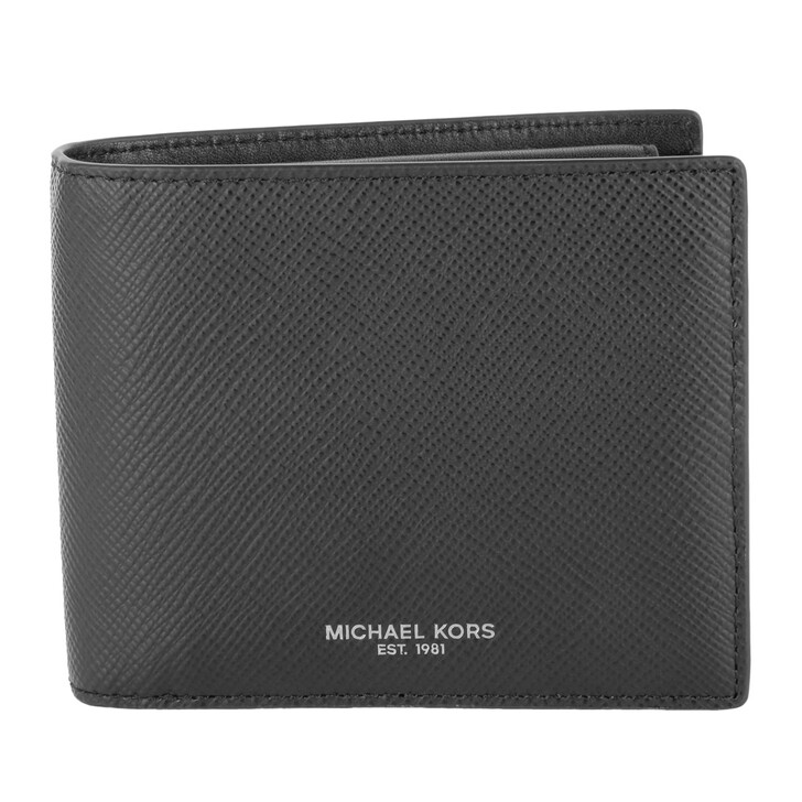 Geldbörse, MICHAEL Michael Kors, Billfold W Coin Pocket Black