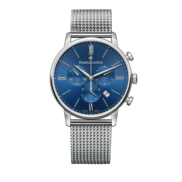 watches, Maurice Lacroix, Watch Eliros Silver Blue