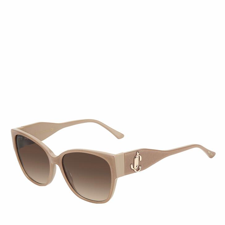 Sonnenbrille, Jimmy Choo, SHAY/S Nude Glitter
