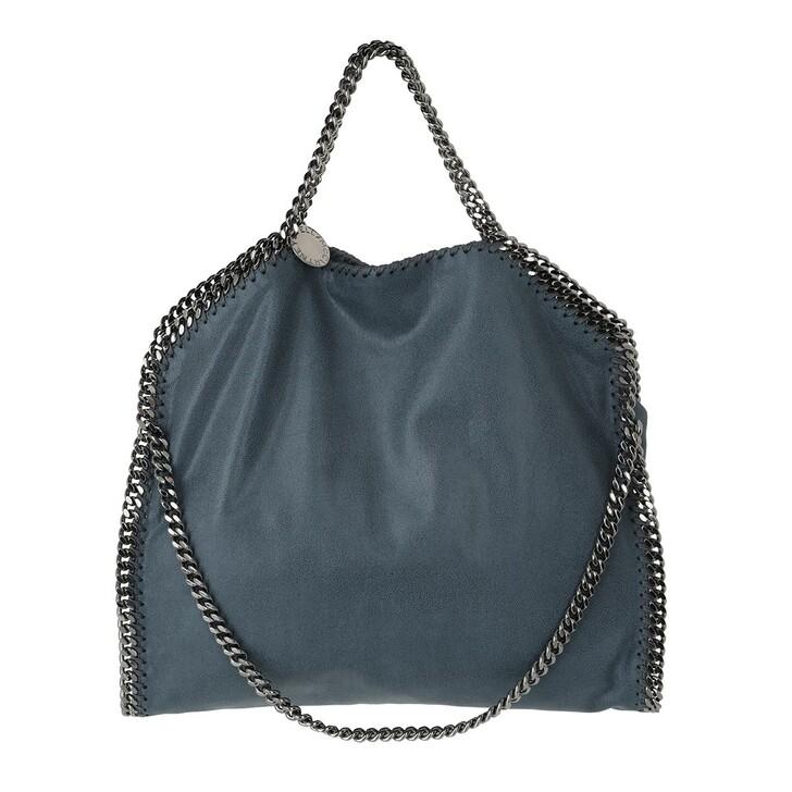 Handtasche, Stella McCartney, Falabella Shaggy Deer Tote Blue