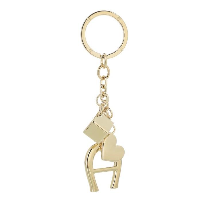 keyrings, AIGNER, Fashion Keychain Charms Gold