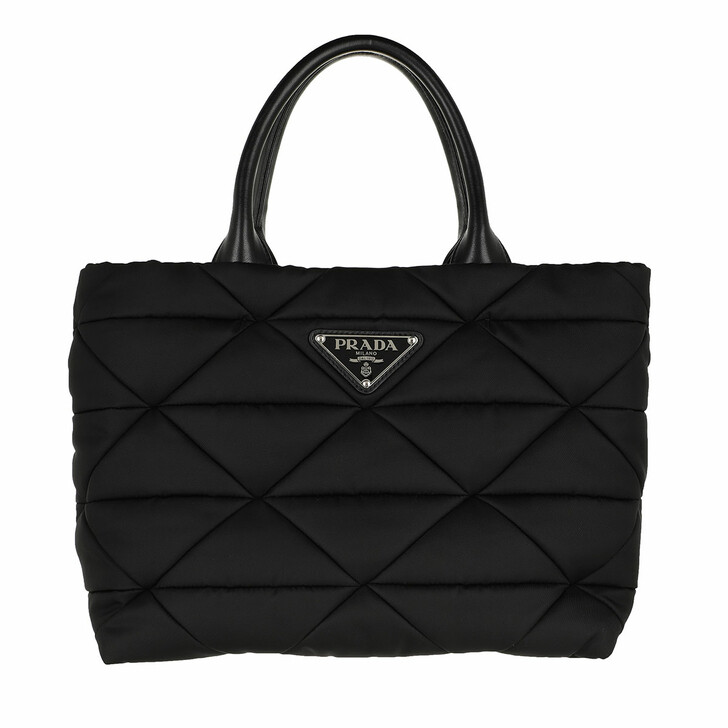Handtasche, Prada, Small Padded Tote Bag Black