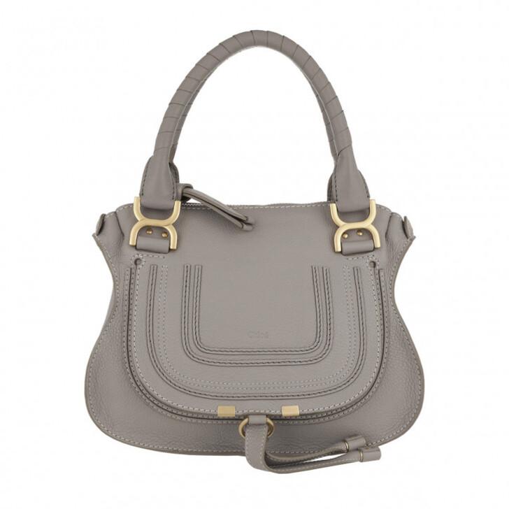 Handtasche, Chloé, Marcie Crossbody Bag Cashmere Grey