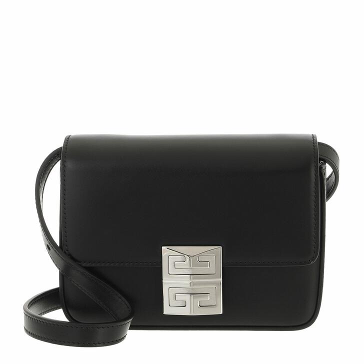 bags, Givenchy, 4G Small Crossbody Bag Black