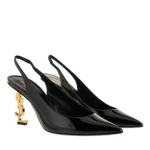 saint laurent -  Pumps & High Heels - Opyum Slingback Pump Leather - in schwarz - für Damen