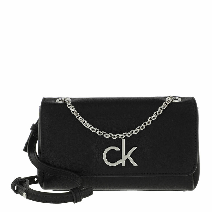 Handtasche, Calvin Klein, Phone Mini Crossbody Bag Black