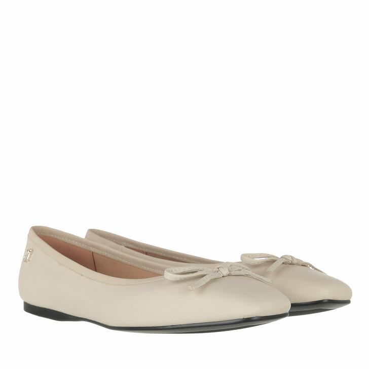 Schuh, Tommy Hilfiger, Essential Square Toe Ballerinas Classic Beige