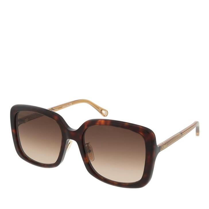 sunglasses, Chloé, CH0073SK-002 57 Sunglass Woman Bio Acetate Havana-Brown-Brown