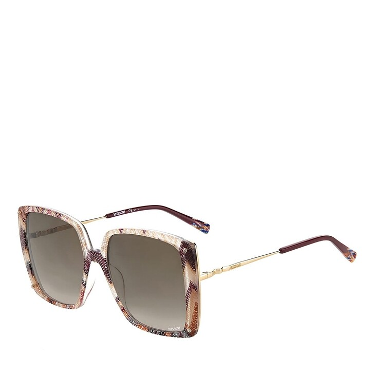 Sonnenbrille, Missoni, MIS 0002/S PLUM MULTICOLOR