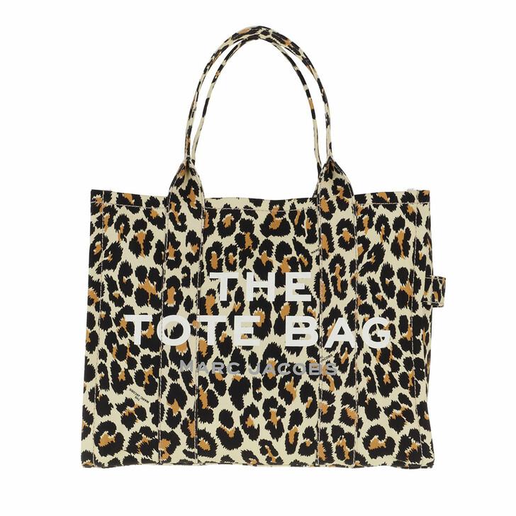 Handtasche, Marc Jacobs, The Leopard Traveler Tote Bag Natural Multi