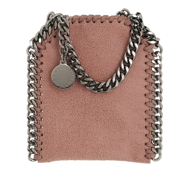bags, Stella McCartney, Micro Bag Falabella Shaggy Dear Pink
