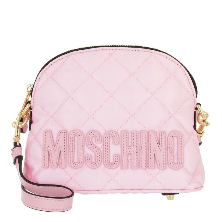 bags, Moschino, Borsa Tracolla Fantasia Rosa