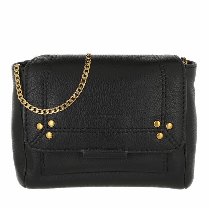 bags, Jerome Dreyfuss, Lulu XS Noir Brass