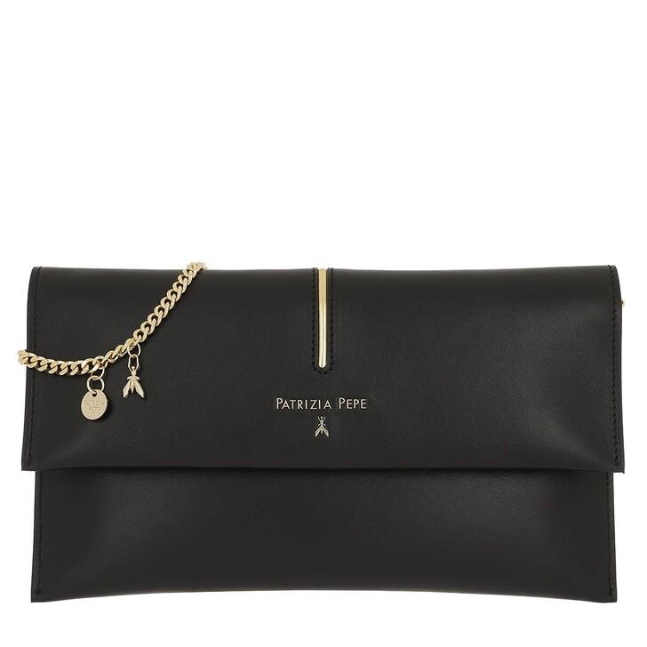 Handtasche, Patrizia Pepe, Flap Crossbody Bag Nero
