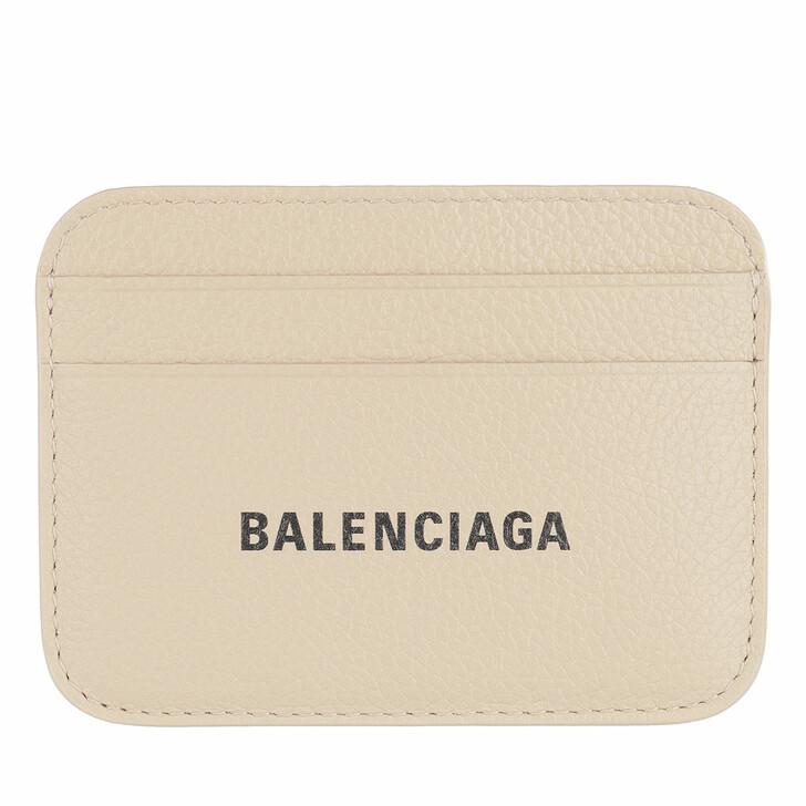 wallets, Balenciaga, Cash Card Holder Light Beige