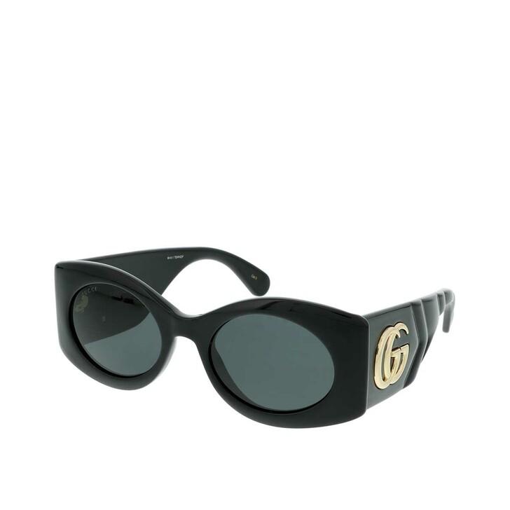 Sonnenbrille, Gucci, GG0810S-001 53 Sunglass WOMAN INJECTION Black