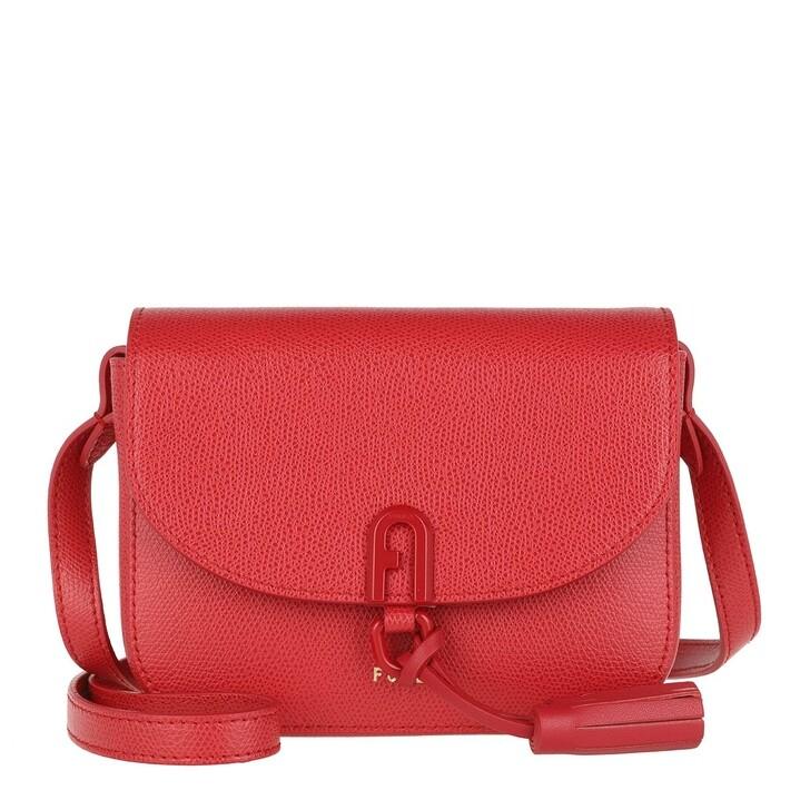 bags, Furla, 1927 Mini Crossbody Bag Ruby