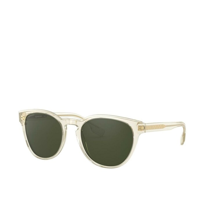 Sonnenbrille, Burberry, Men Sunglasses Classic Reloaded 0BE4310 Transparent Yellow