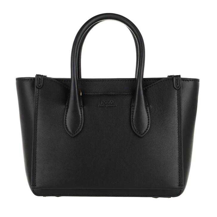 Handtasche, Polo Ralph Lauren, Sloane Mini Satchel Bag Black
