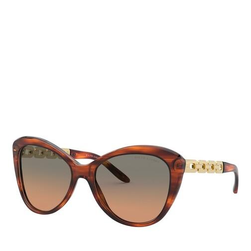 ralph lauren -  Sonnenbrille - 0RL8184 - in braun - für Damen