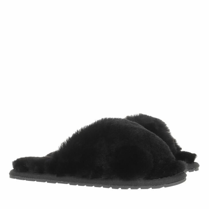 shoes, EMU Australia, Mayberry Slipper Sheepskin Black