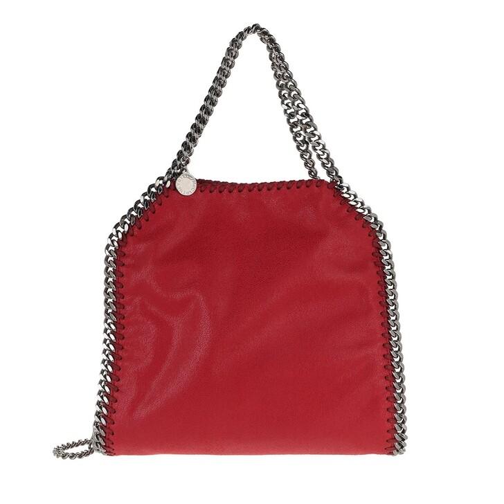 Handtasche, Stella McCartney, Mini Falabella 3 Chains Lipstick Red