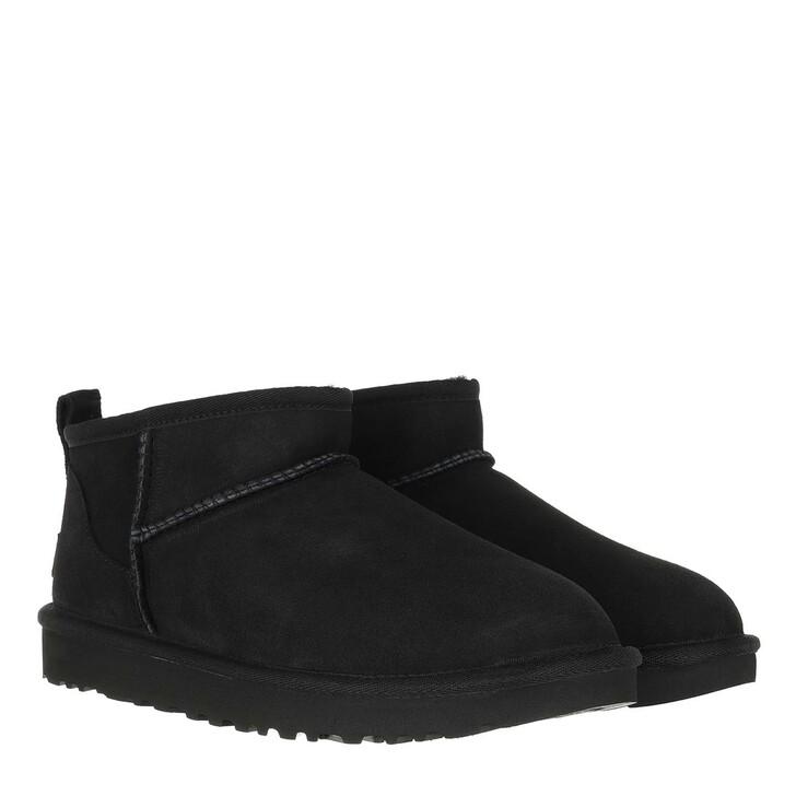 shoes, UGG, Classic Ultra Mini Classic Boot Black