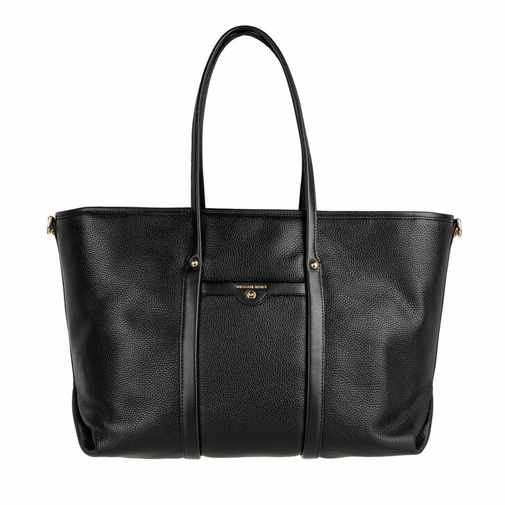 Handtasche, MICHAEL Michael Kors, Large Tote  Leather Black