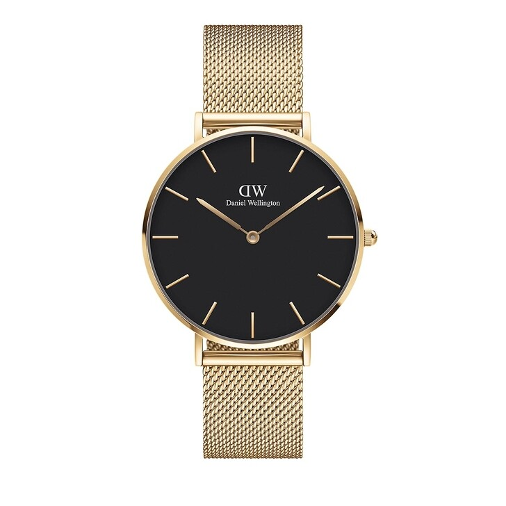 watches, Daniel Wellington, Petite 36mm Watch Evergold Black