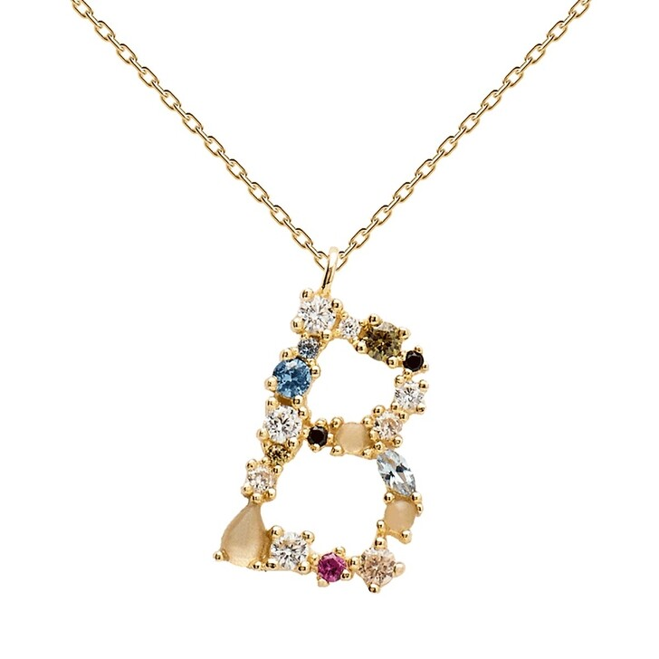 Kette, PDPAOLA, B Necklace Yellow Gold