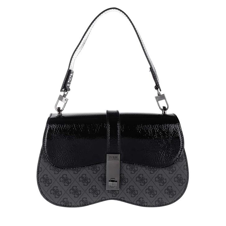 Handtasche, Guess, Asher Shoulder Bag Coal