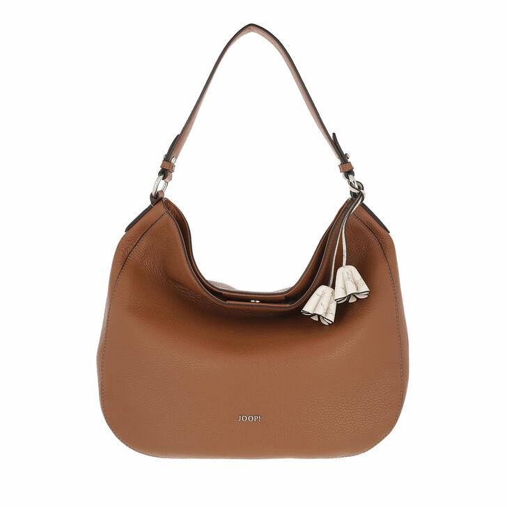 bags, JOOP!, Chiara 1.0 Eliza Hobo Lvo Cognac