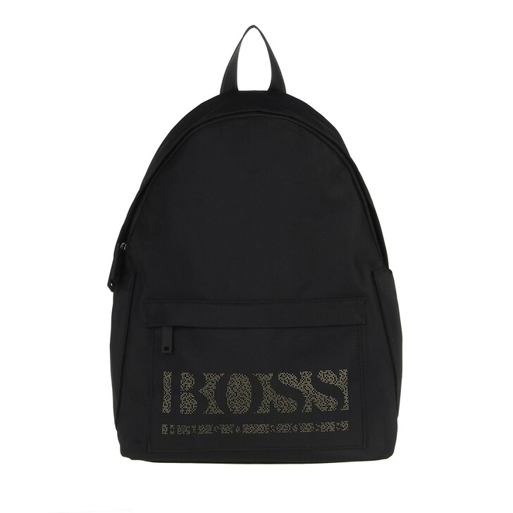 bags, Boss, Men Magnified Backpack Black