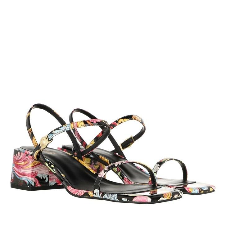Schuh, Versace Jeans Couture, Linea Fondo Twiggy Sandal Black Multicolour
