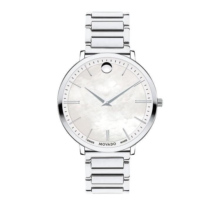Uhr, Movado, Ultra Slim silver
