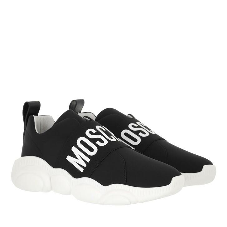 shoes, Moschino, Sneakerd Orso30 Lycra  Nero